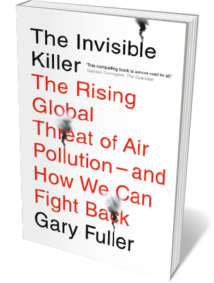 Book jacket 'Invisible Killer'