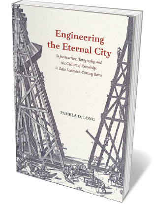 Book jacket 'Engineering the Eternal City'