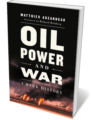 Book jacket 'Oil Power and War'