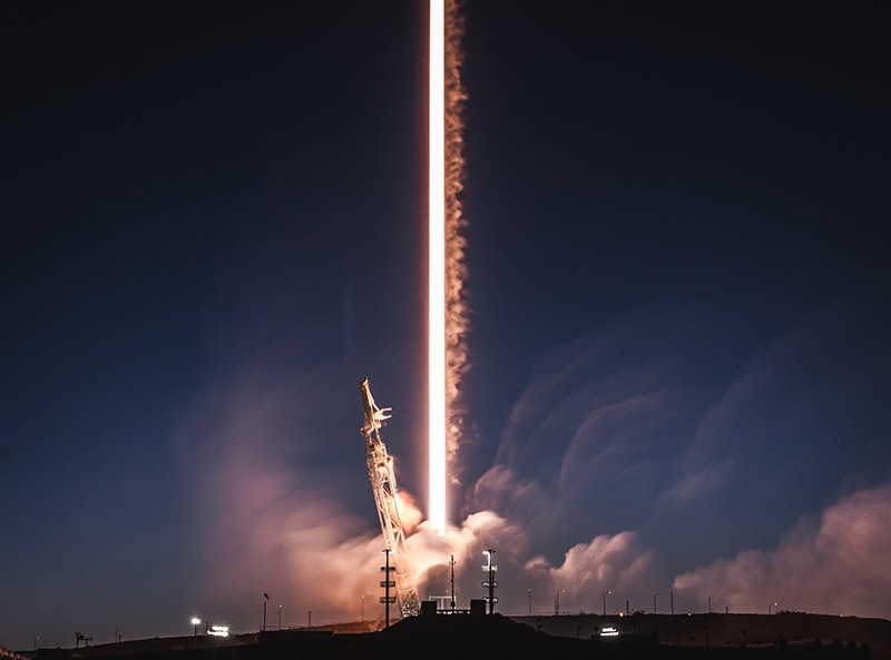 SpaceX successfully launched the PAZ satellite rocket.