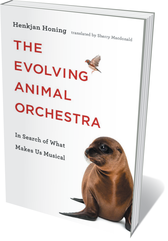 The cover of The Evolving Animal Orchestra