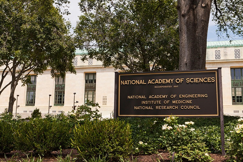The National Academy of Sciences headquarters, Washington, DC