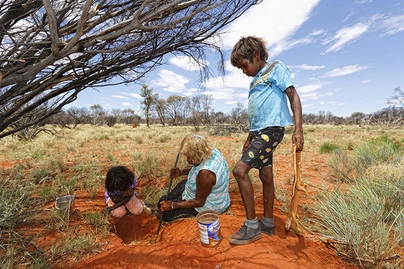 Indigenous Australians in Northern Territory, Australia