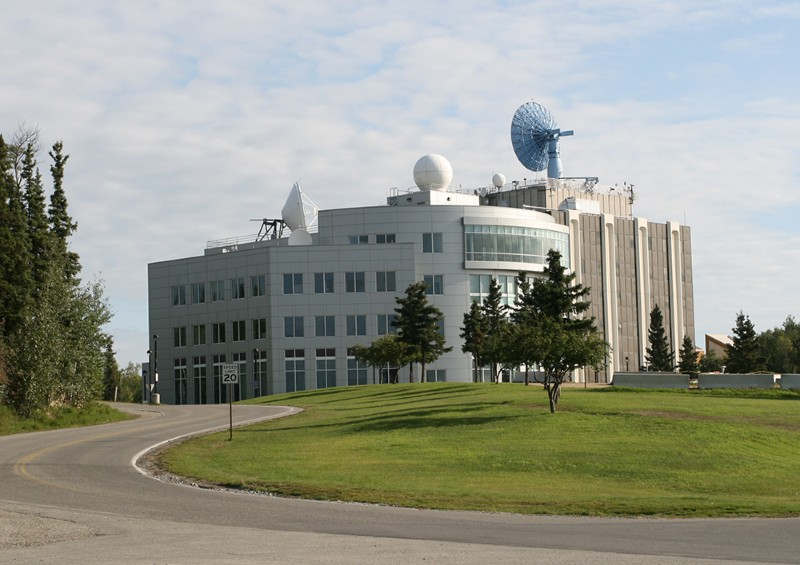 Geophysical Institute Building, University of Alaska Fairbanks.