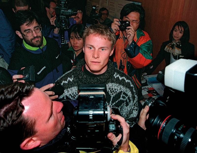 Olympic snowboarder Ross Rebagliati