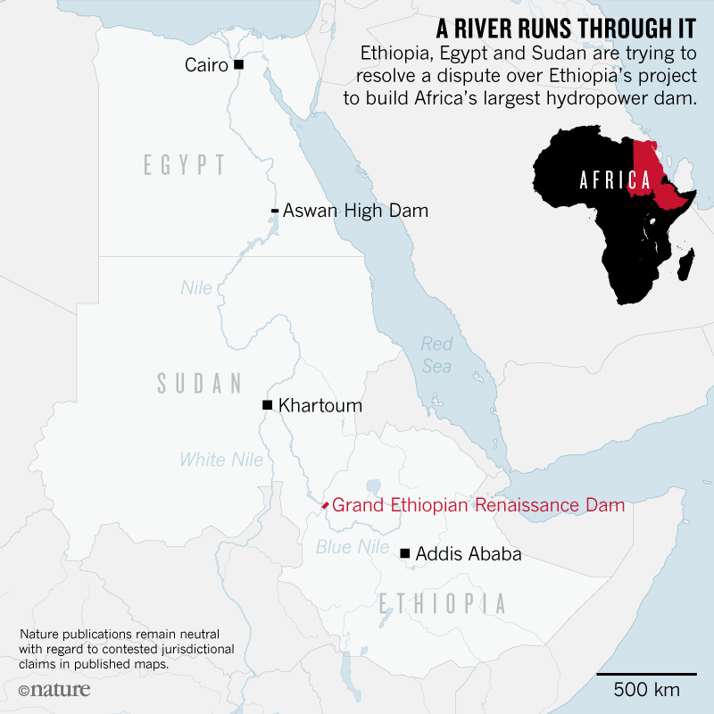 Gigantic Nile dam prompts clash between Egypt and Ethiopia