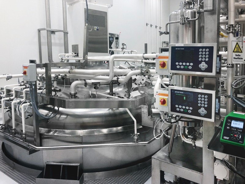 A 20K bioreactor in Lonza's Visp facility, Switzerland