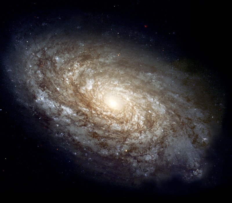 Dusty spiral Galaxy, NGC 4414.