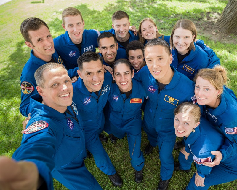 The members of the 2017 NASA Astronaut Class