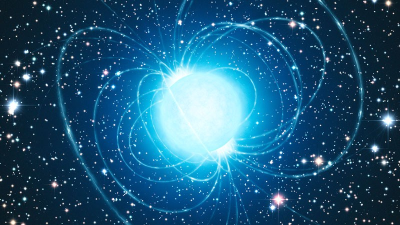 Artist's impression of a magnetar