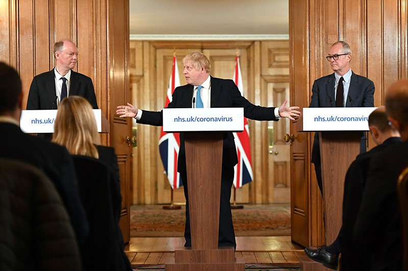 The UK daily coronavirus briefing, led by Prime Minister Boris Johnson