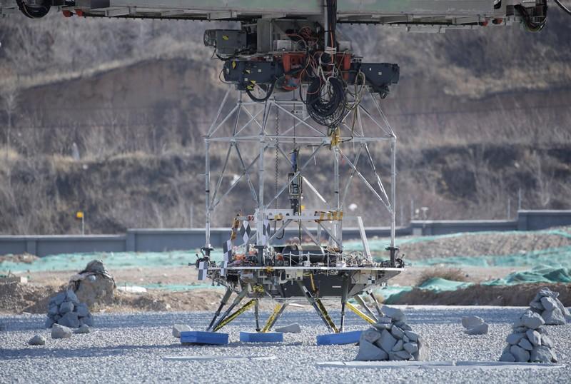 A lander for China's Mars mission