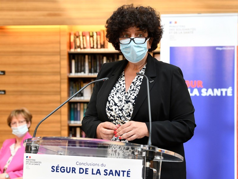 French Higher Education, Research and Innovation Minister Frederique Vidal.