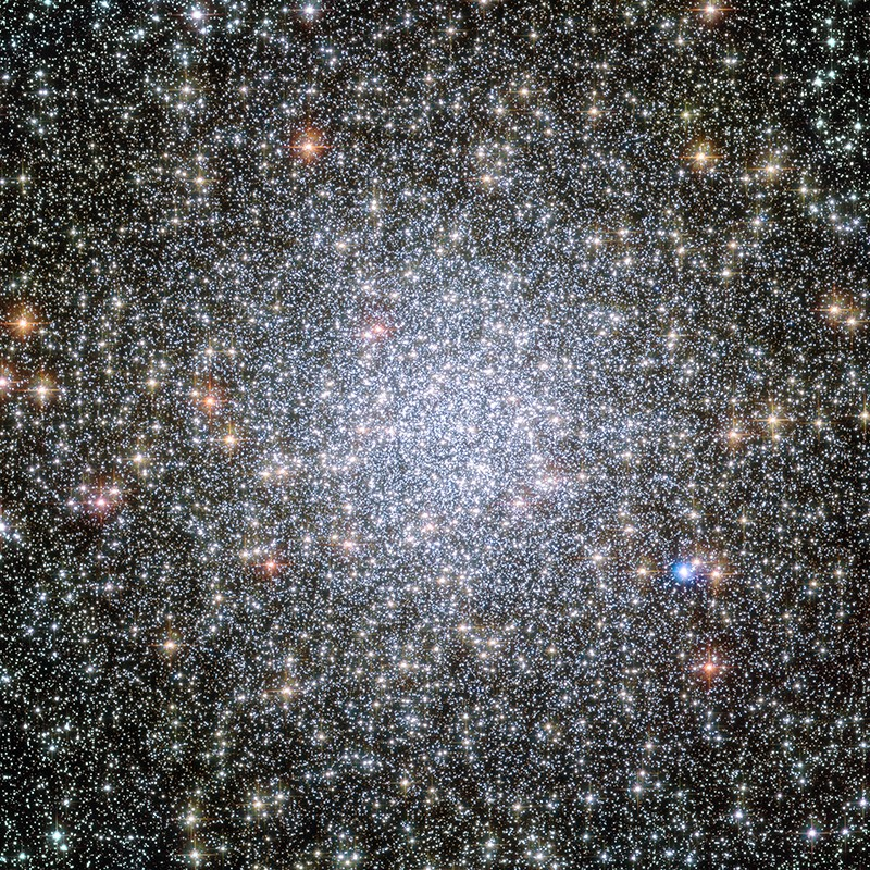 The Hubble Space Telescope took a photo of the expanding universe