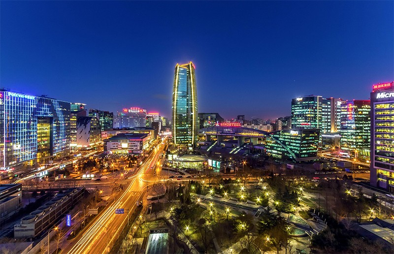 Photo of Zhongguancun Science Park, in Haidian District, Beijing.