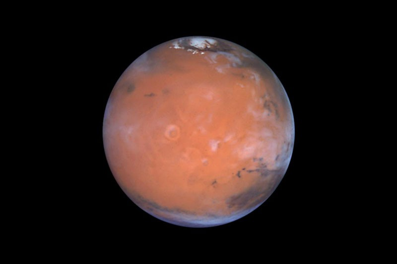 An image of Mars