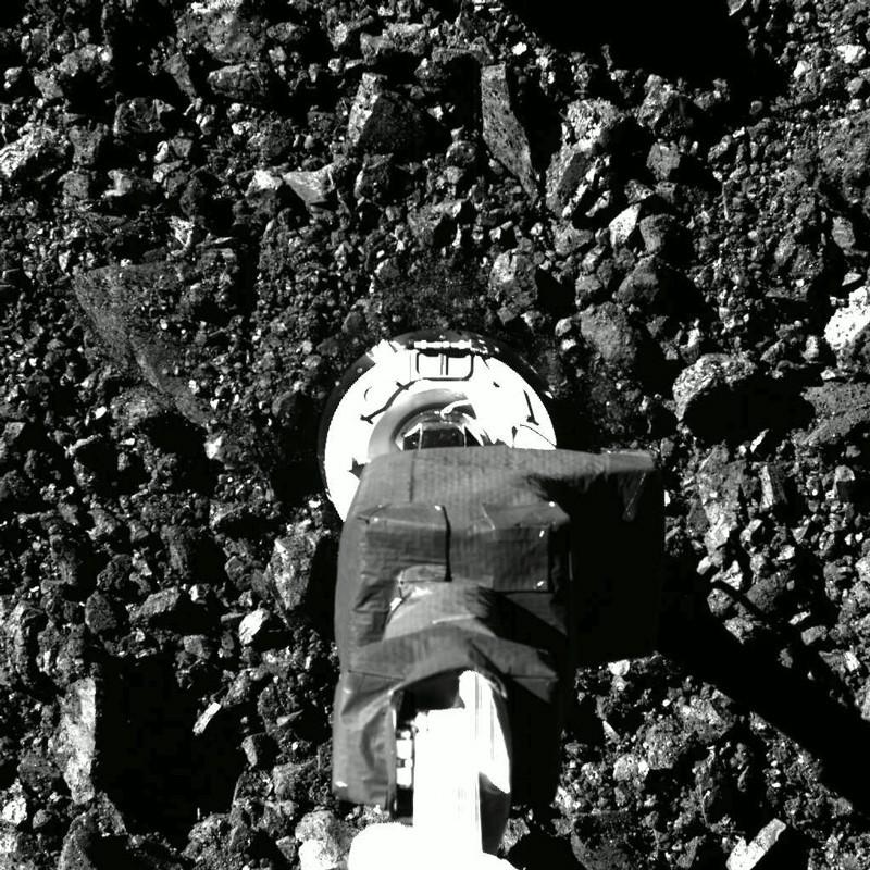 Acara Pengumpulan Sampel Touch-And-Go Misi OSIRIS REx