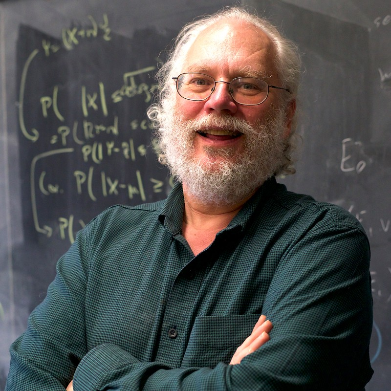 Peter Shor, winner of the 2020 BBVA Foundation Frontiers of Knowledge Award in Basic Sciences.
