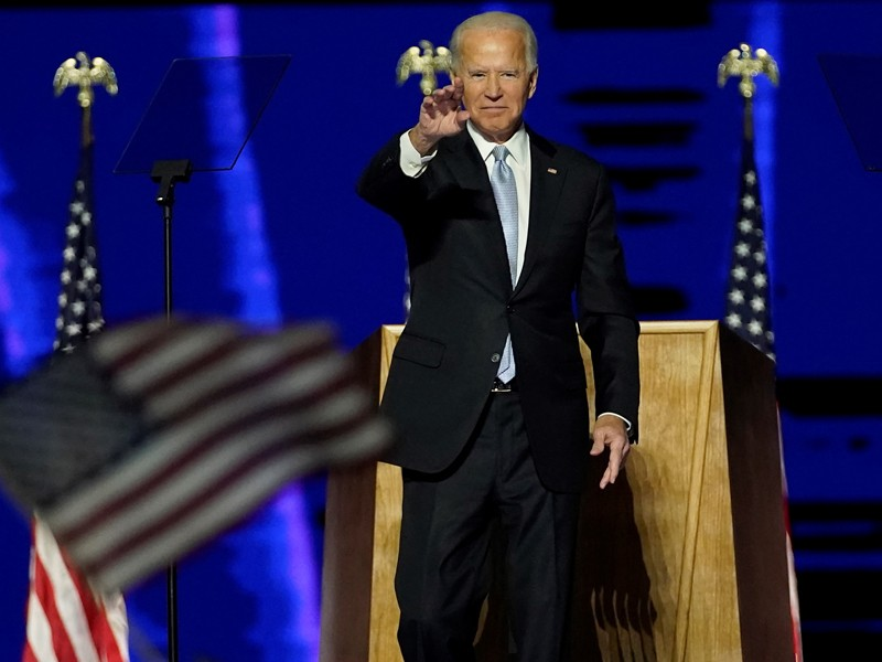 Scientists relieved as Joe Biden wins tight US presidential election
