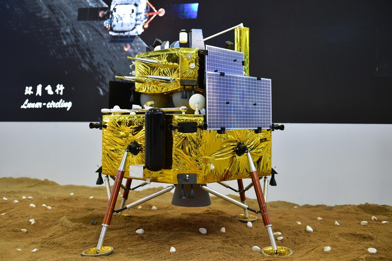 A model of Chang'e-5 lunar probe