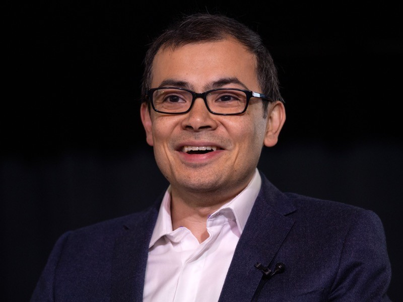 British artificial intelligence scientist and entrepreneur Demis Hassabis, 2019.