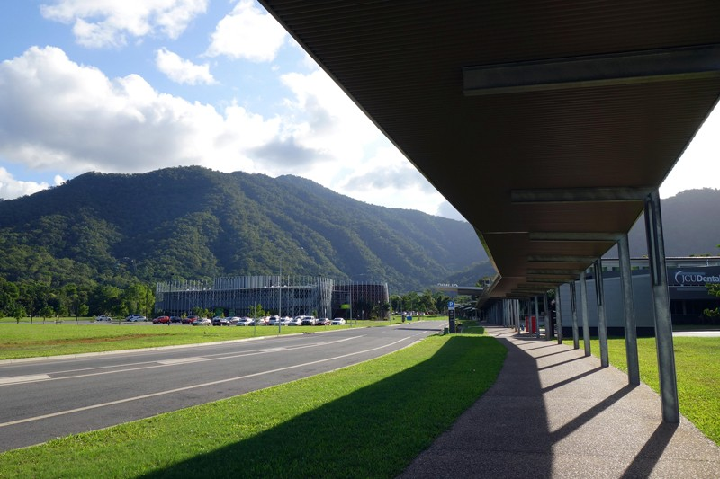 Entrance to the Cairns campus of the James Cook University