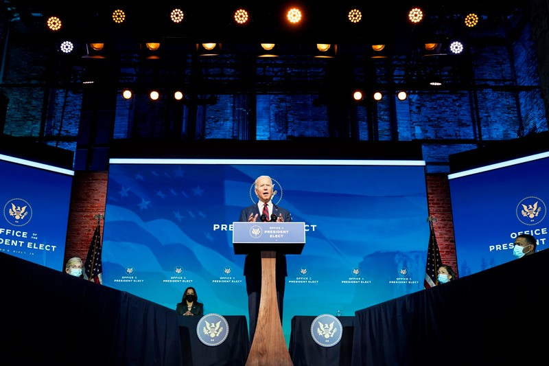 President-elect Joe Biden announces members of his climate and energy appointments