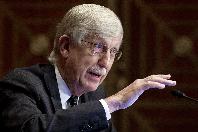 Francis Collins, director of the National Institutes of Health, speaking at a Senate hearing