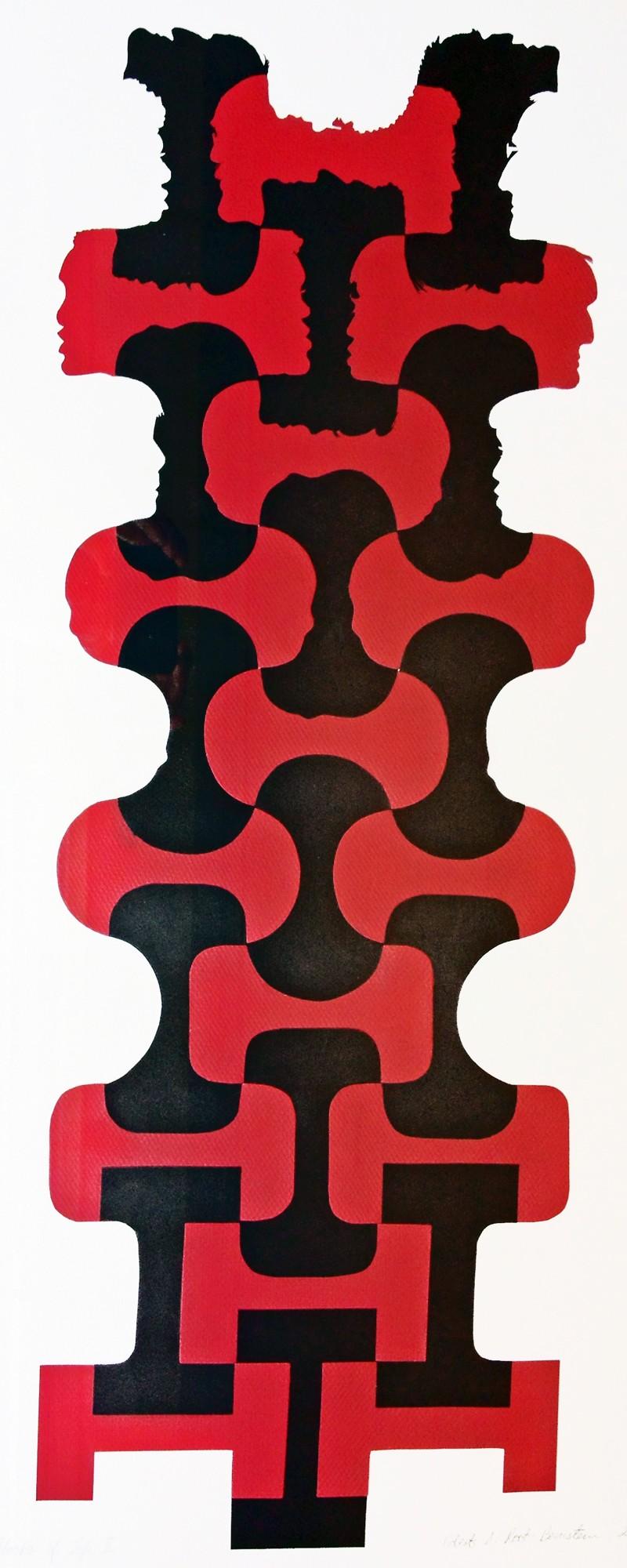 """Robert Root-Bernstein, """"Building Blocks of Life, II"""" (2001) Paper construction."""