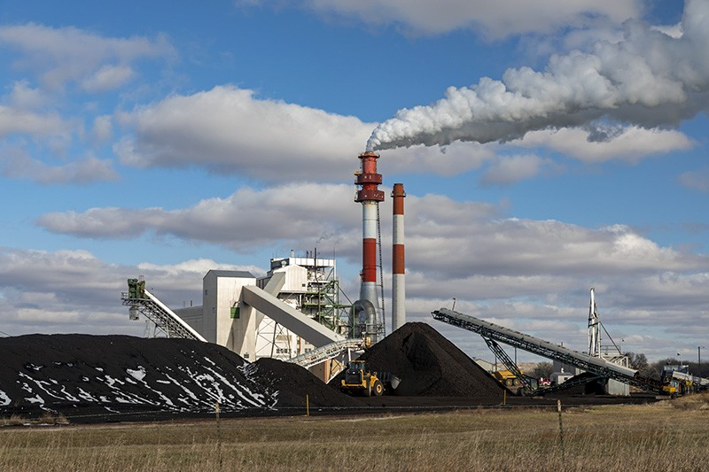 Coal-fired power plant in the United States