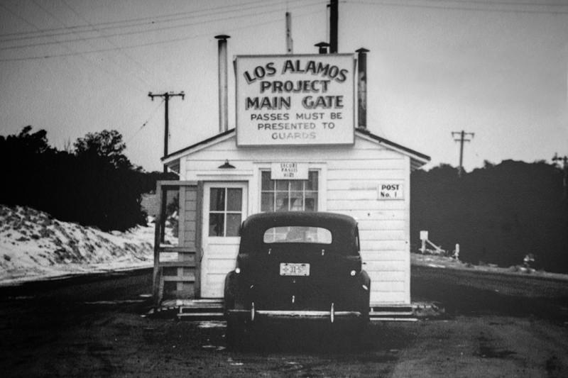 Los Alamos project main gate