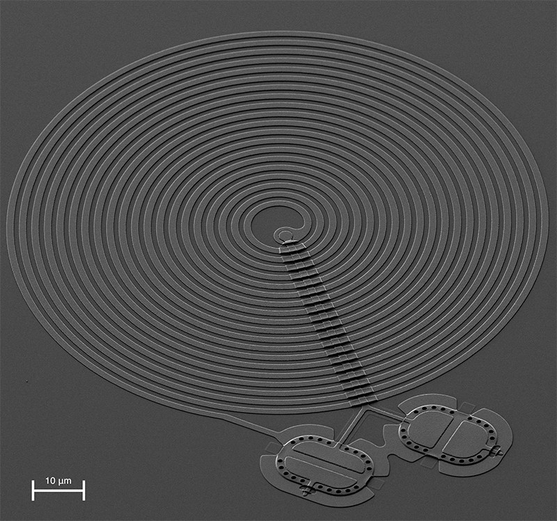 Quantum drum device