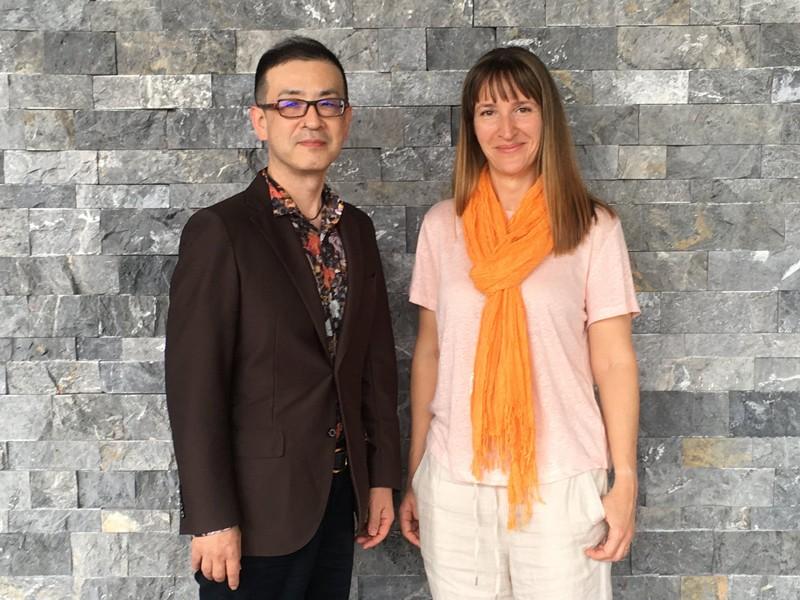 Tadashi Sugihara, PhD (left) and Irina Filonova, PhD (right).