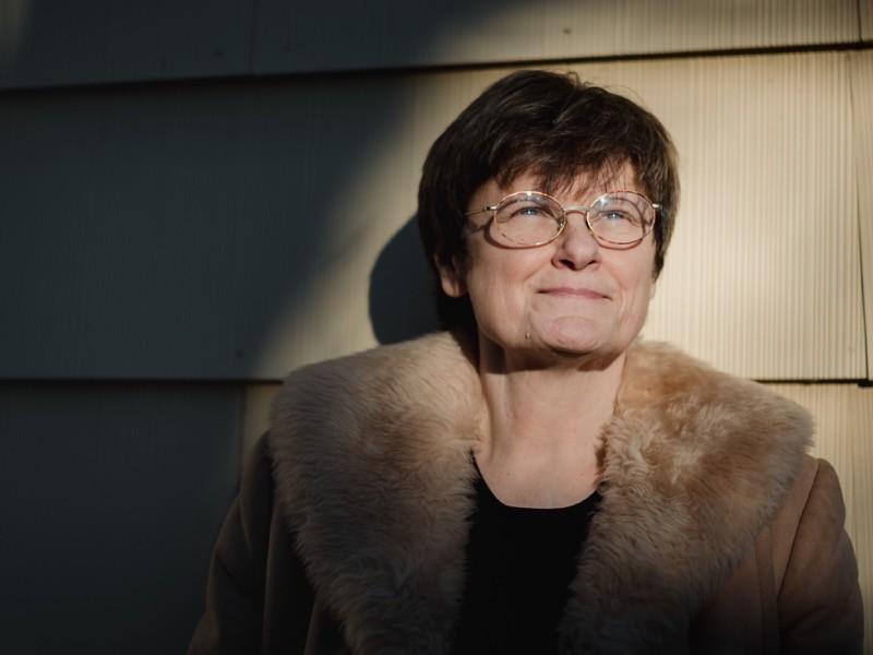 Katalin Kariko, a Hungarian biochemist, in Jenkintown, Pennsylvania, U.S., in 2021.