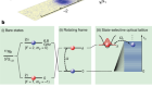 Spontaneous emission of matter waves from a tunableopen quantum system