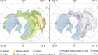 Extensive loss of past permafrost carbon but a net accumulation into present-day soils
