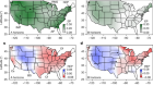 Climate-induced changes in continental-scale soil macroporosity may intensify water cycle