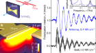 Temporal and spectral fingerprints of ultrafast all-coherent spin switching
