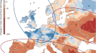 Changing climate both increases and decreases European river floods