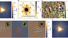 Measuring the Berry phase of graphene from wavefront dislocations in Friedel oscillations