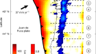 Similar scaling laws for earthquakes and Cascadia slow-slip events