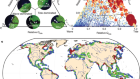 Global-scale human impact on delta morphology has led to net land area gain