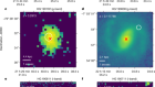 A census of baryons in the Universe from localized fast radio bursts