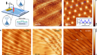 Evidence of flat bands and correlated states in buckled graphene superlattices