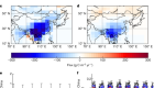Large Chinese land carbon sink estimated from atmospheric carbon dioxide data