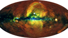 Detection of large-scale X-ray bubbles in the Milky Way halo