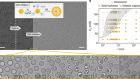Transmembrane transport in inorganic colloidal cell-mimics