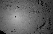 Japan's asteroid mission drops first rovers onto 'dumpling' space rock