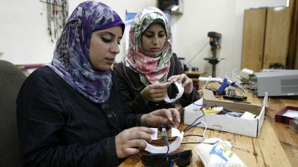 A boost for Palestinian science