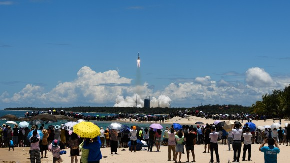 China's successful launch of Mars mission seals global era in deep-space exploration